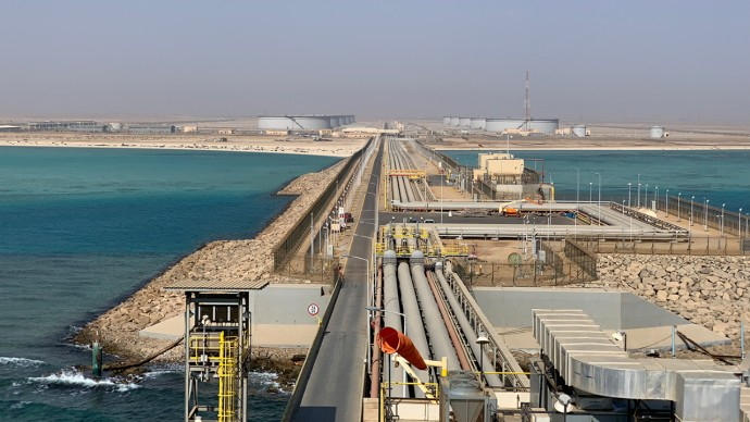 Saudi Aramco: Yanbu' South Terminal Boosts Export Capacity | Asharq