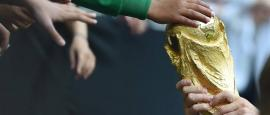World Cup Trophy Visits Palestinian Territories