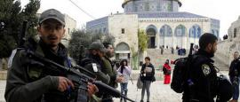 Israel Arrest 5 Palestinians at Flashpoint Holy Site
