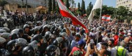 Ongoing Lebanon Street Protests Affect Many Sectors