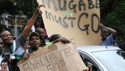 Zimbabwe President Mugabe Dismissed from Ruling Party