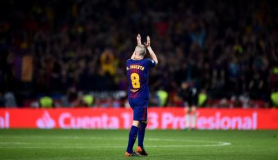 Andrés Iniesta Begins Glorious Goodbye as an Era Draws to a Close