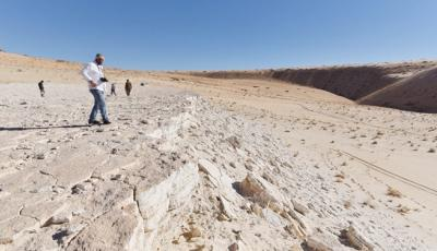 Saudi: Prehistoric Human Footprints Discovered in Tabuk