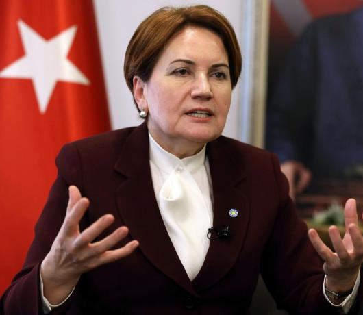 Asharq Al-Awsat Exclusive - Meral Aksener: Turkey's Iron Lady Threatening Erdogan's Control