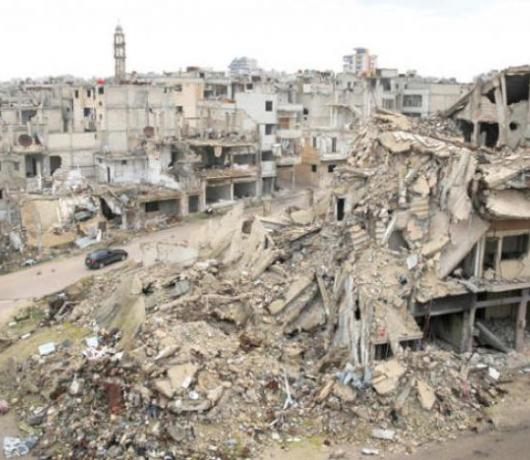 Homs: What's Left of the Cradle of the Syrian Uprising?
