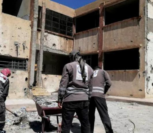 Social Groups, Volunteers Help Reopen Schools in Post-ISIS Raqqa