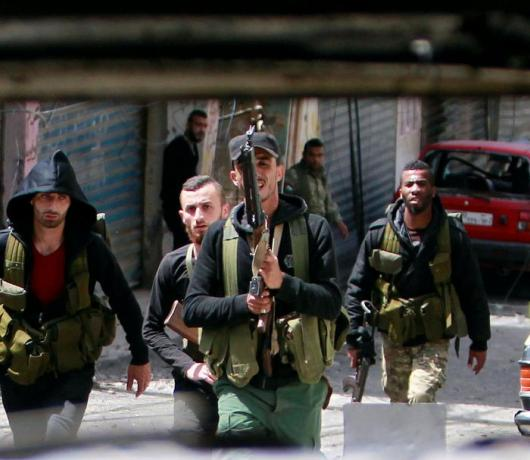 Exclusive - Lebanon: Palestinian Camps Home to Armed Groups Under Islamic Labels