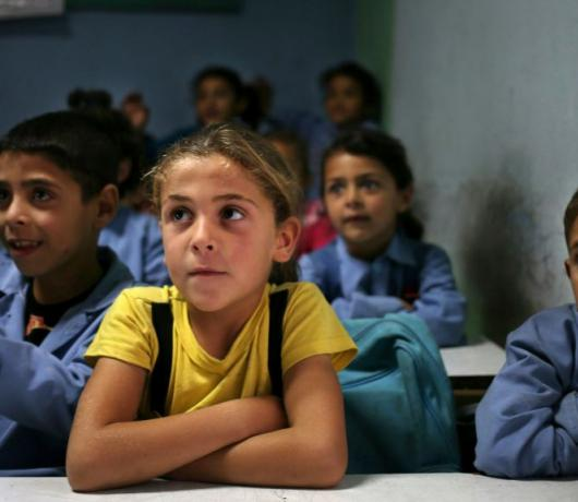 Exclusive - Displaced Syrian Students Keep up with Lebanese Counterparts