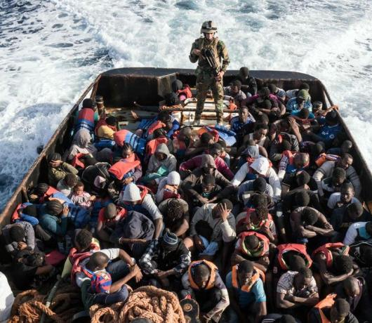 Exclusive – Libya Migrant Route: A Voyage Ending in Death