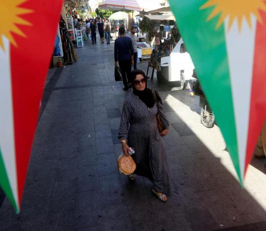 Anti-Iran Kurdish Official to Asharq Al-Awsat: We Want to Establish Independent State