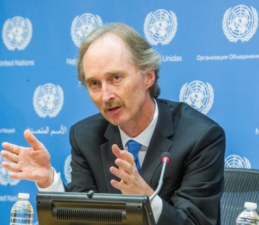 UN Envoy to Asharq Al-Awsat: Five Armies are Embroiled in Syrian Conflict