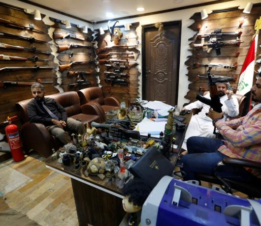 Iraq Gun Shops Thrive amid Call for Arms Control