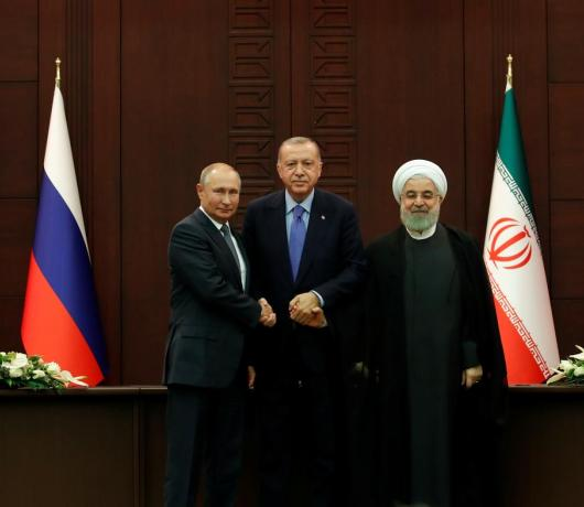 Turkey, Iran, Russia Discussed Four Issues at Summit