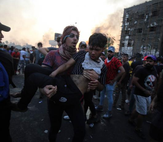 Thousands Maimed in Iraq Anti-Government Protests