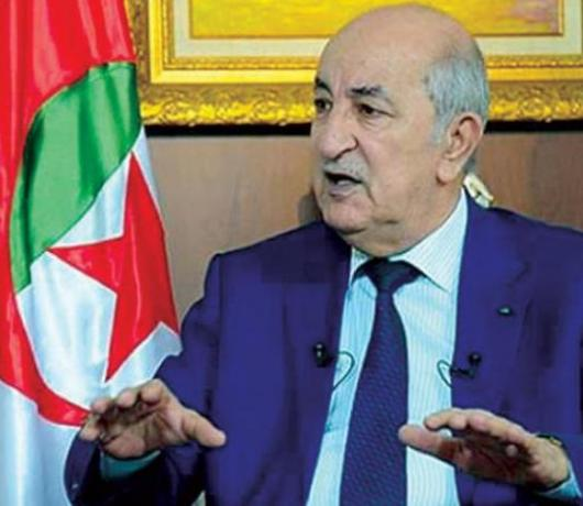 Algeria's Tebboune: Military at Equal Distance from all Candidates