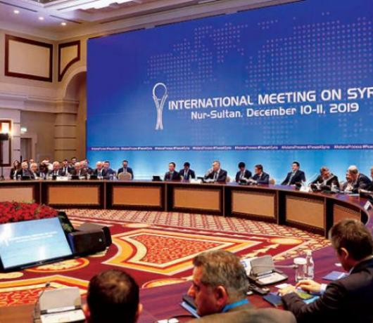 Astana Meeting Criticizes US Presence, Israel's Raids but Forgets the Golan