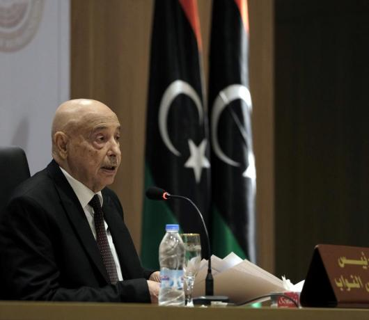 Libya Parliament Speaker to Asharq Al-Awsat: We Back Political Solution, but After Tripoli Liberation