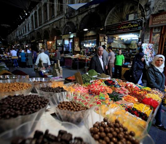 Syrians Hit Hard by Economic Crisis