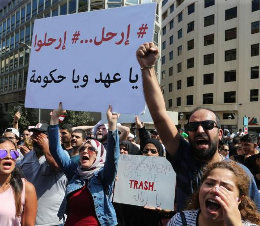 The Rampant Corruption that Sparked Lebanon's Protests