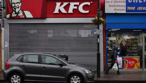 Delivery Problem Closes KFC Stores across UK