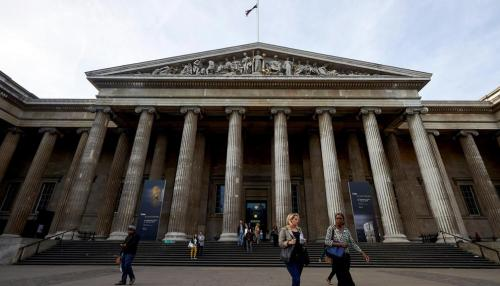 British Museum Names Gallery after Sheikh Zayed