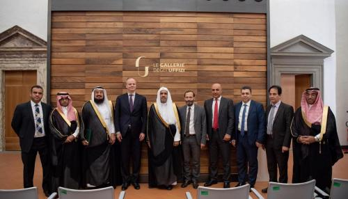 Muslim World League Signs Cooperation Agreement with Florence's Uffizi Museum