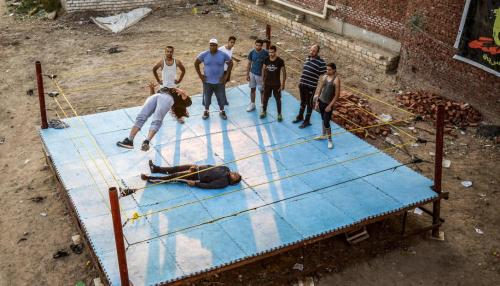 Egyptian Enthusiasts Get American Wrestling off the Ground