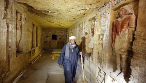 4,400-Year-Old Tomb Discovered in Egypt's Saqqara
