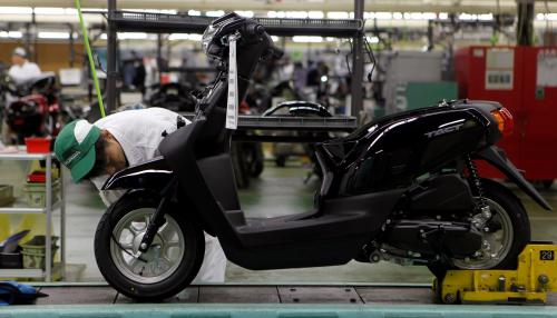 Motorcycle Factory Provides Solutions to Transportation Problem in Jordan