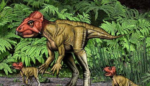 Chinese Paleontologists Create Full Rendering of Dinosaur Walking on Two Feet