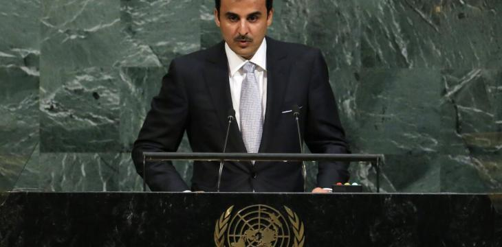 Qatar's Emir Disregards Reasons behind Crisis