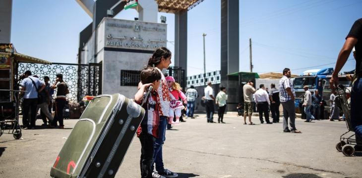 Egypt-Gaza Border Opens Under PA Control in First Since 2007