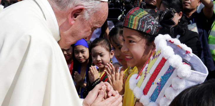 Pope in Myanmar: The Way to Confronting Violence and Radical Buddhism
