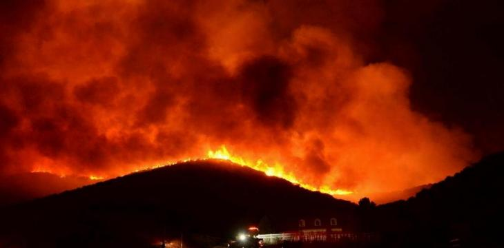 California Wildfires Third Largest in State's History