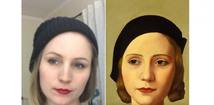 Somewhere in the World, There's a Painting That Looks Like You. Google Will Find It.