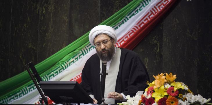 Iranian Judiciary Chief Warns against Undermining Protests