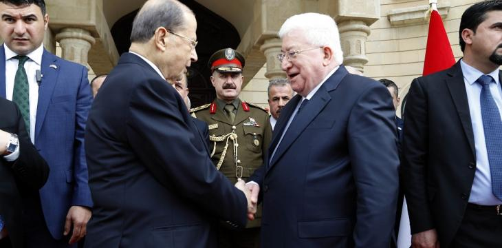 Lebanon's Aoun Makes Historic Iraq Visit