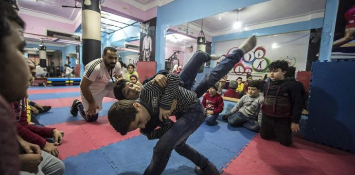 Sports Academy in Egypt Gives Syrian Children Hope