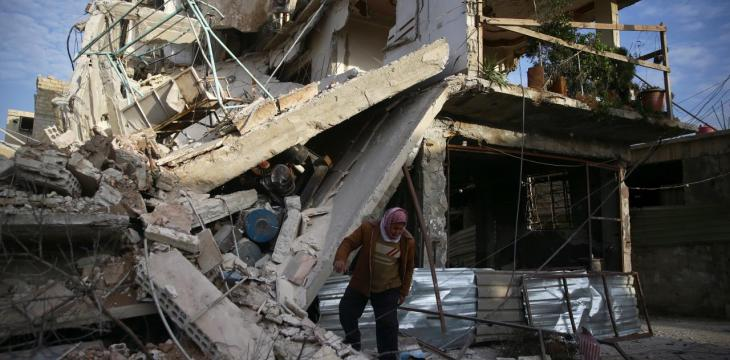 Bombs Rain on Eastern Ghouta, Death Toll Above 200