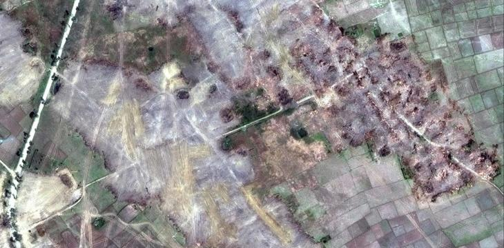 Myanmar Bulldozes Rohingya Villages, Destroying Evidence of Mass Atrocities