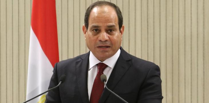 Sisi Says National Prestige Recovered, Progress Achieved in Confrontations with 'Evil'