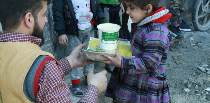 KSRelief Sends Aid to Syria's Eastern Ghouta