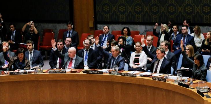 Security Council: Immediate Ceasefire In Syria