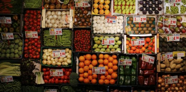 Euro Zone Inflation Lags in February As Food Prices Fall