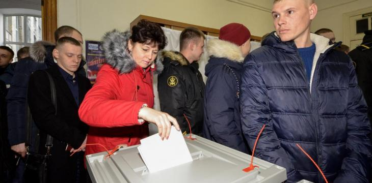 Putin Victory Expected as Russians Vote in Presidential Elections