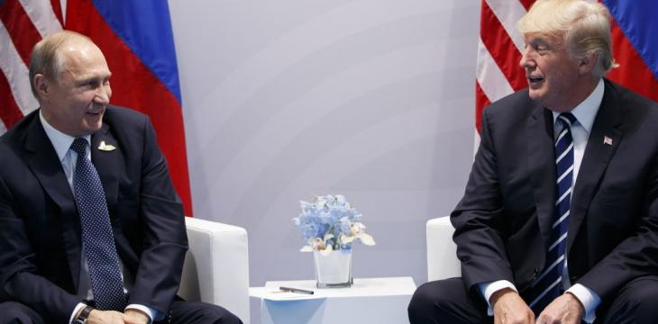 Trump Telephones Putin to Congratulate him on Re-Election