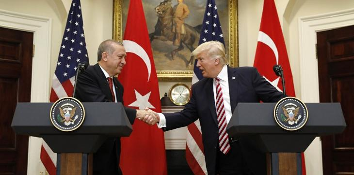 White House: Trump, Erdogan Discuss Bilateral Relations