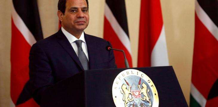 Egypt's Sisi Visits Airbase in Sinai
