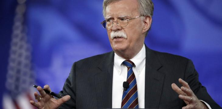 Trump Appoints Bolton as National Security Adviser to Replace McMaster