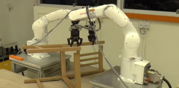 Robots Assemble Ikea Chair in 20 Minutes